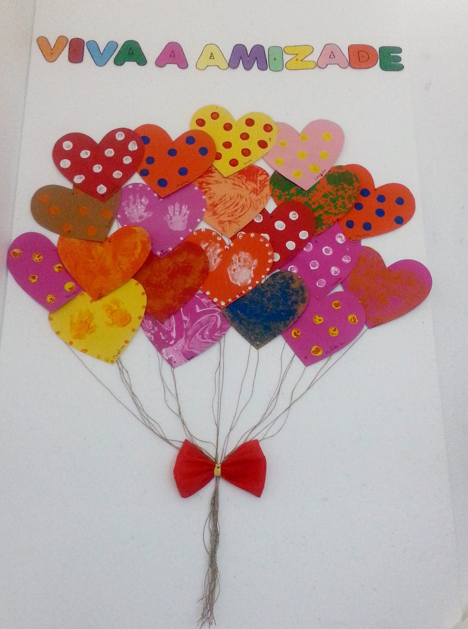 No dia de São Valentim celebrámos a amizade!