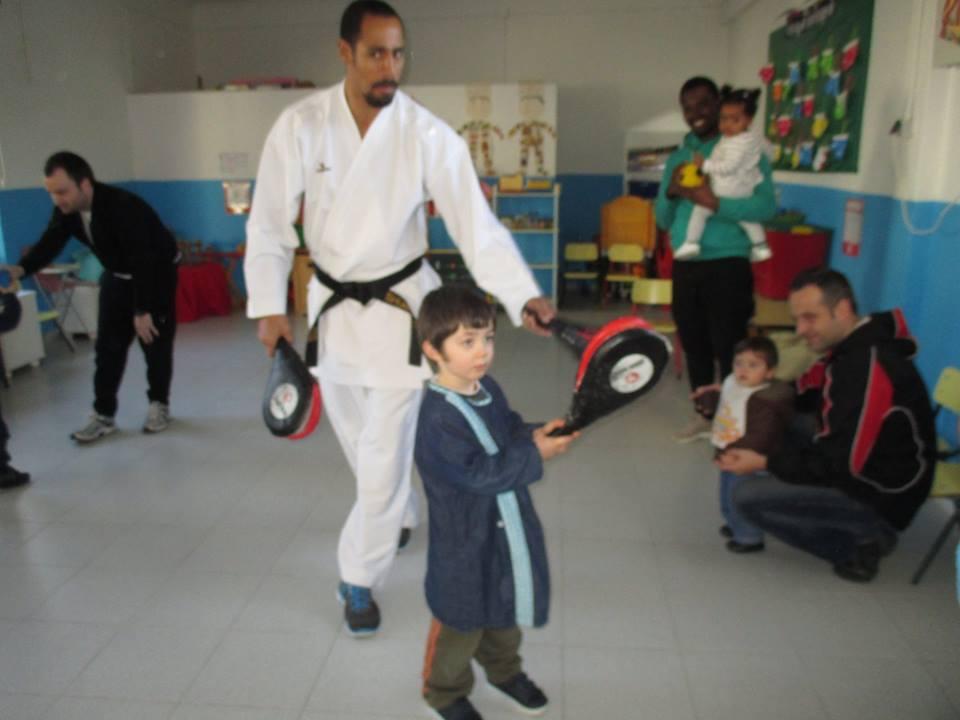 Aula de Karaté para Pais e Filhos